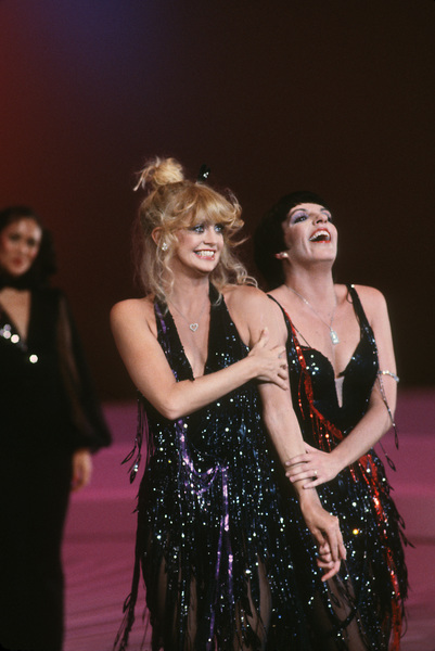 """Liza Minnelli and Goldie Hawn in the television special """"Goldie and Liza Together"""" 1980 © 1980 Gunther - Image 0616_0055"""