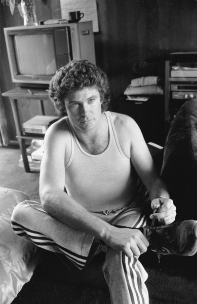 David Hasselhoff At home, 1983. © 1983 Gunther - Image 0619_0028