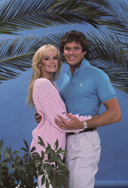 David Hasselhoff with Catherine Hickland1985 © 1985 Gene Trindl - Image 0619_0038