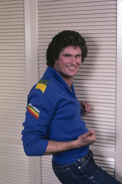David Hasselhoff1983 © 1983 Gene Trindl - Image 0619_0039