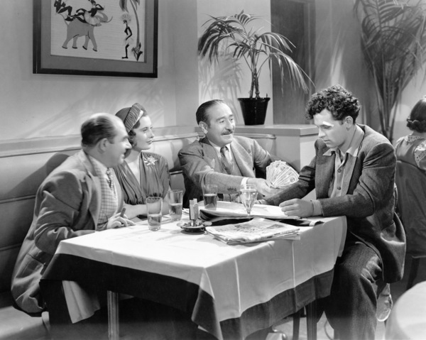 """Barbara Stanwyck, Adolphe Menjou and William Holden in """"Golden Boy""""1939** I.V / M.T. - Image 0623_0212"""