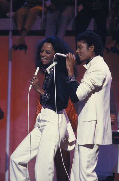 """Michael Jackson and Diana Ross on """"Diana"""" (TV Special)March 2, 1981Photo by Gabi Rona - Image 0628_0005"""