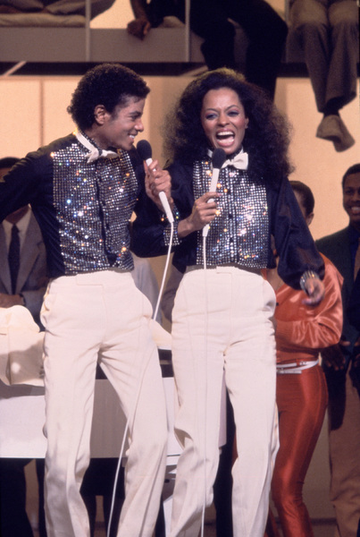 """Michael Jackson and Diana Ross on """"Diana"""" (TV Special)March 2, 1981Photo by Gabi Rona - Image 0628_0015"""