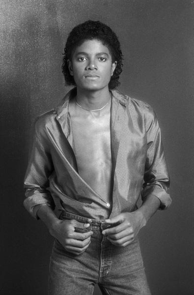 Michael Jackson 1980 © 2009 Bobby Holland - Image 0628_0066