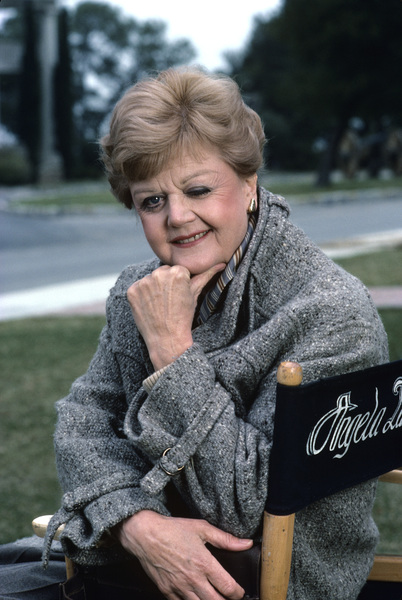 "Angela Lansbury on the set of ""Murder, She Wrote""1985 © 1985 Gunther - Image 0633_0007"