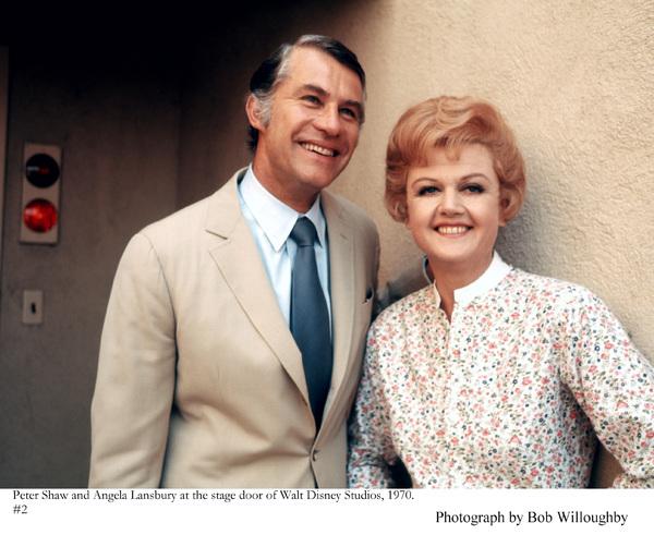 Angela Lansbury and husband Peter Shaw at Walt Disney Studios, 1970 © 1978 Bob Willoughby - Image 0633_0030