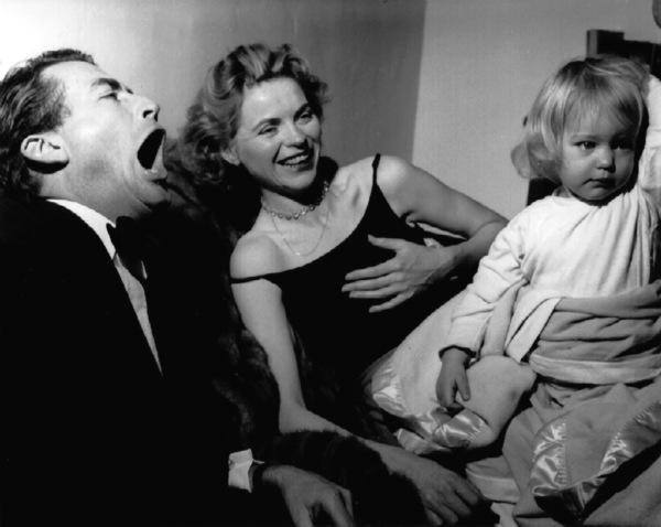 Gregory Peck, Dorothy McGuire, Topo1950Copyright John Swope Trust / MPTV - Image 0642_0028