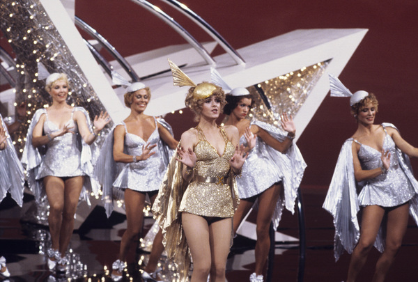 """Bernadette Peters performing a number from """"Pennies from Heaven""""1981 Photo by Gabi Rona - Image 0649_0001"""