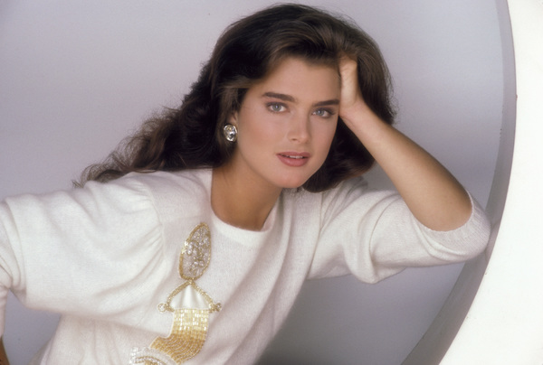 Brooke Shields1987 © 1987 Mario Casilli - Image 0656_0203
