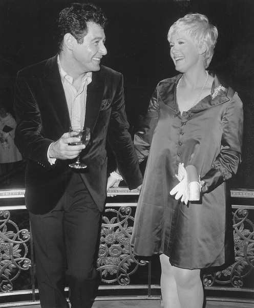 Connie Stevensand Eddie Fisher out on the town before the birth of their daughter Joely FisherOctober 9, 1967 - Image 0658_0082