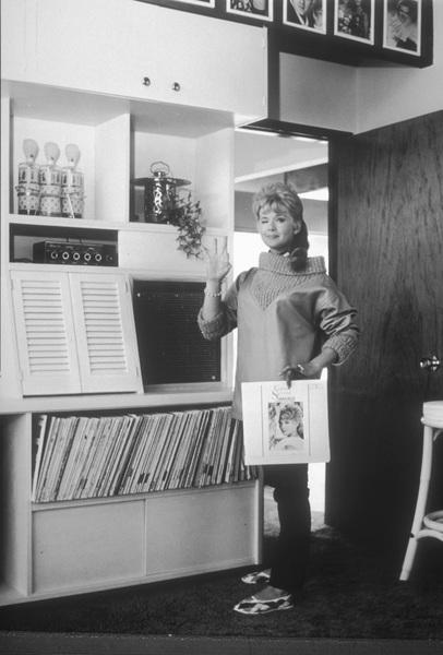 Connie Stevensat homecirca 1962Photo by Joe Shere - Image 0658_0101