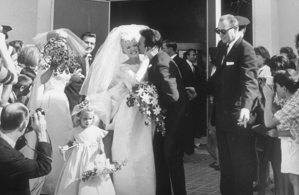 Connie Stevensand James Stacy at their wedding1963Photo by Joe Shere - Image 0658_0103