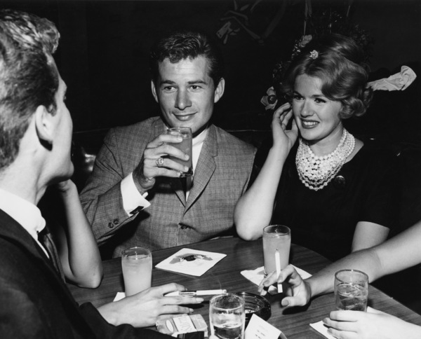 Connie Stevens and Gary Clarke at a club in Beverly Hillscirca 1960sPhoto by Joe Shere - Image 0658_0140
