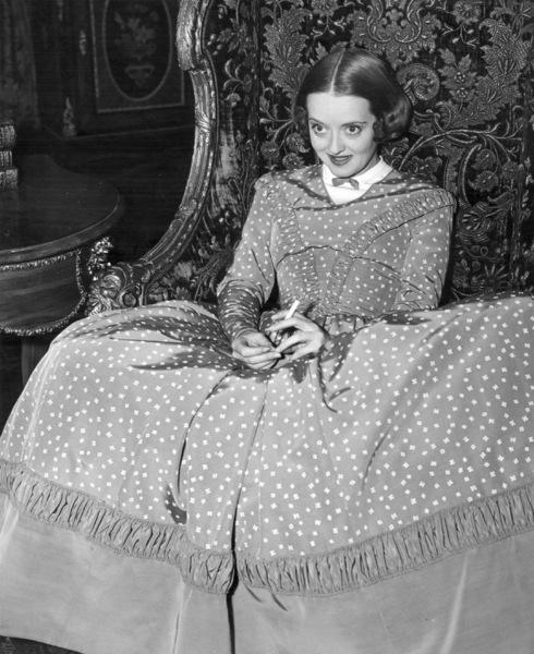 "Bette Davis on the set of ""All This And Heaven Too"" 1940 / WarnerPhoto by Bert Six - Image 0701_0344"