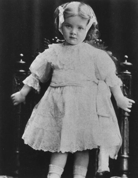 Marlene Dietrich, c. 1903.**R.C. - Image 0709_1034