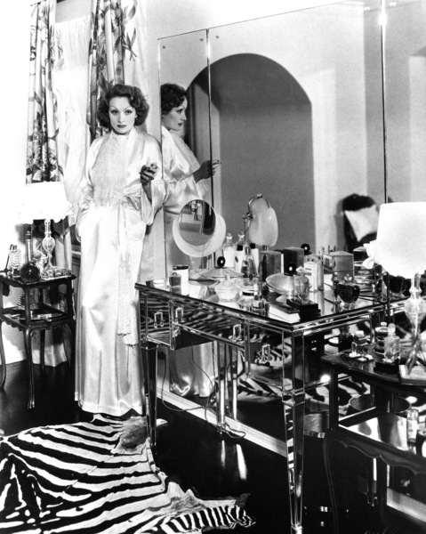 Marlene Dietrich at home, c. 1932.**R.C. - Image 0709_1074