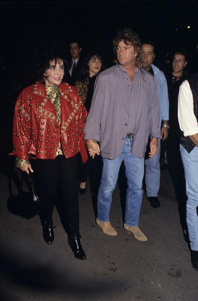 Elizabeth Taylor and Larry Fortensky1994 © 1994 Gary Lewis - Image 0712_5249