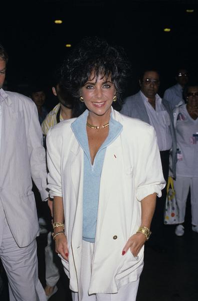 Elizabeth Taylorcirca 1980s © 1980 Gary Lewis - Image 0712_5251