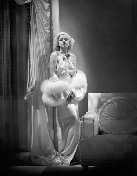"""Jean Harlow in """"Dinner at Eight""""1933 MGM** I.V. - Image 0716_1196"""