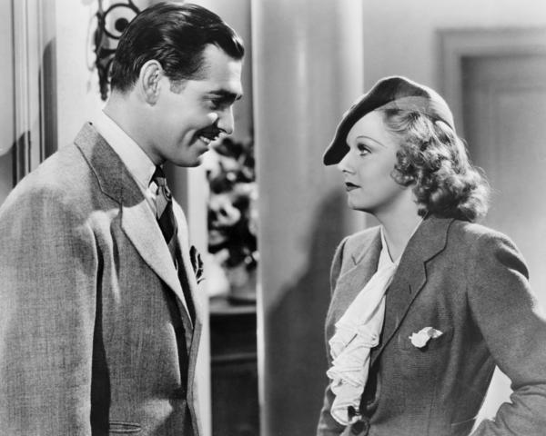 "Clark Gable and Jean Harlow in ""Wife vs. Secretary""1936 MGM** I.V. / M.T. - Image 0716_1287"