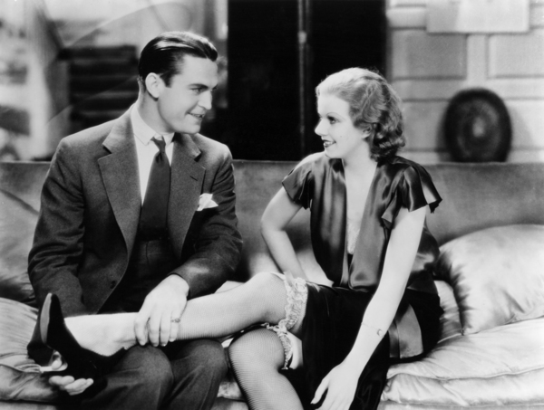 """Chester Morris and Jean Harlow in """"Red Headed Woman""""1932 MGM** I.V. / M.T. - Image 0716_1292"""