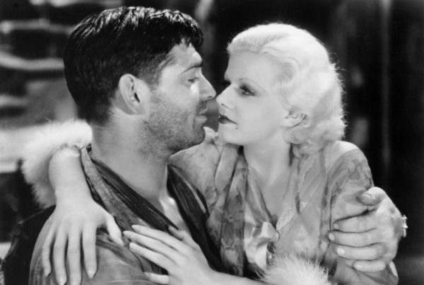 """Clark Gable and Jean Harlow in """"Red Dust""""1932 MGM** I.V. / M.T. - Image 0716_1293"""