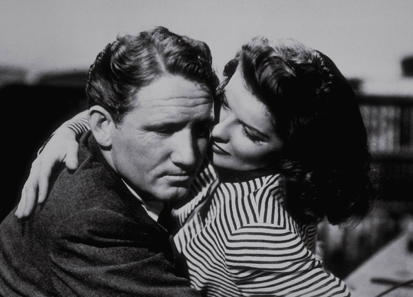 """Katharine Hepburn and Spencer Tracy in""""Woman Of The Year""""1942 MGM - Image 0722_0083"""