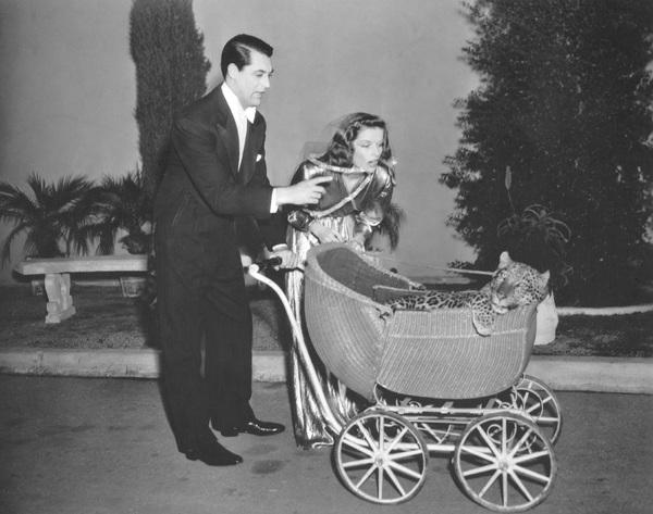 """Bringing Up Baby""Cary Grant & Katharine Hepburn1938 RKO**I.V. - Image 0722_2332"