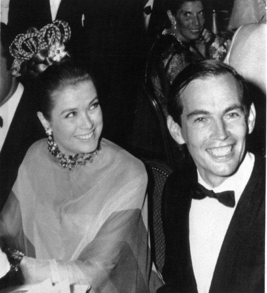 Grace Kelly with Dr. Chris Barnard during a Monaco Red Cross Gala, 1968.**I.V. - Image 0724_0302