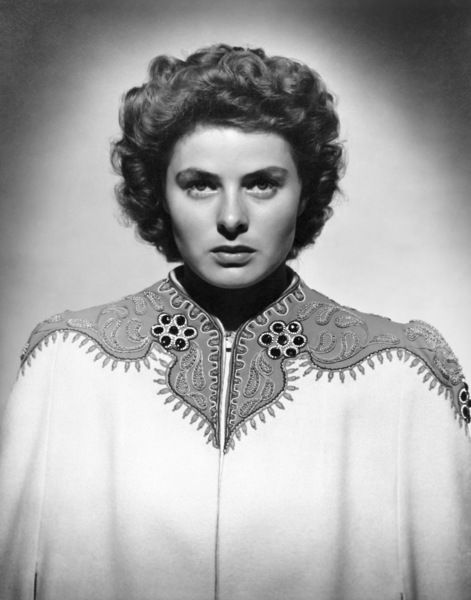 "Ingrid Bergman in ""Spellbound""1945© 1978 Ned Scott Archive - Image 0726_1038"