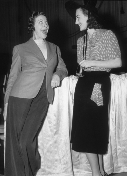 Joan Crawford and Fanny Brice, c. 1947.**I.V. - Image 0728_8292