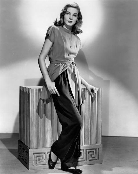 Lauren BacallC. 1947 - Image 0730_0229
