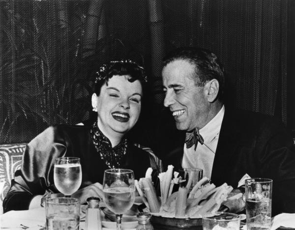 Judy Garland and Humphrey Bogart in Las Vegas, Nevada1955** R.C. - Image 0733_2100