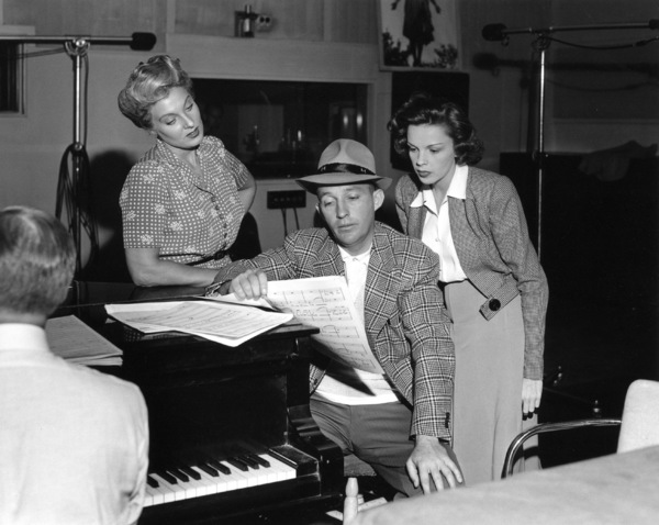 Bing Crosby, Judy GarlandRecording studio, c. 1947Photo by Bill Dudas - Image 0733_2165