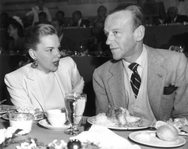 Judy Garland and Fred AstaireMGM 25th Anniversary studio luncheon1949** I.V. - Image 0733_2193