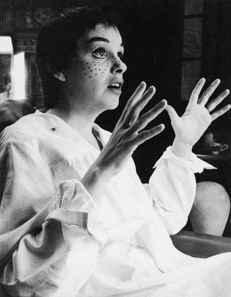 "Judy Garland being made up for ""A Star Is Born""1954 © 1978 Sanford Roth / AMPAS - Image 0733_2223"