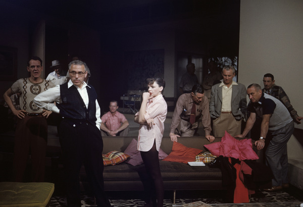 """""""A Star Is Born""""Richard Barstow, director George Cukor, Judy Garland1954© 1978 Bob Willoughby - Image 0733_2341"""