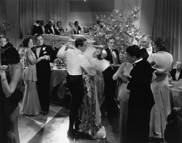 """Claudette Colbert and Fredric March in """"Tonight Is Ours"""" (aka """"The Queen Was in the Parlor"""")1933 - Image 0745_0161"""
