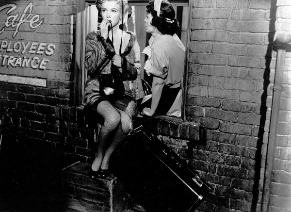 "Marilyn Monroe and Eileen Heckartin ""Bus Stop,"" 1956.20th Century Fox - Image 0758_0216"