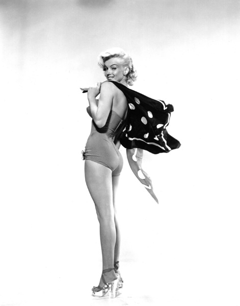 """Marilyn Monroe publicity still for""""How To Marry A Millionaire"""" 1953.Photo by Bert Riesfeld - Image 0758_0658"""