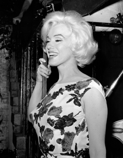 "Marilyn Monroe on the set of""Something"