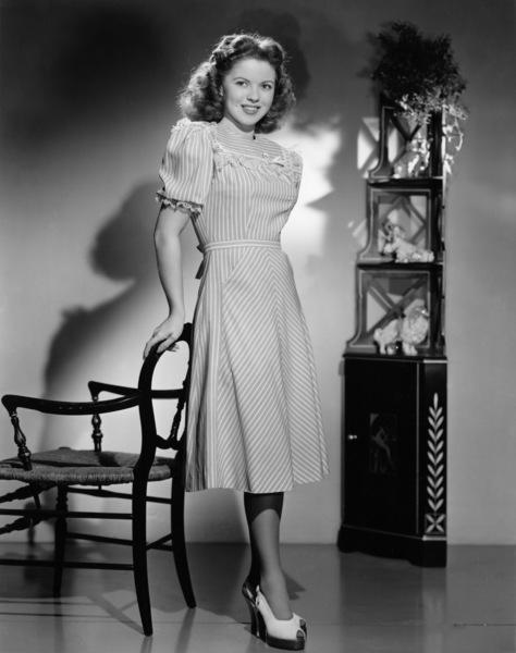 Shirley Templecirca 1945 - Image 0763_0077