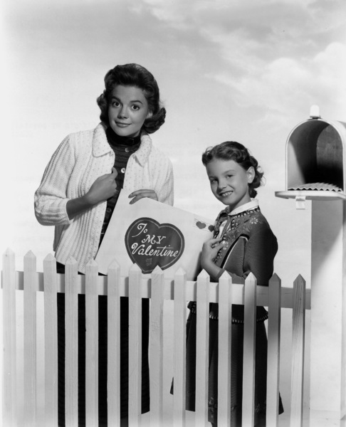Natalie Wood with sister Lana Wood, 1956.Photo by Bert Six - Image 0764_0060
