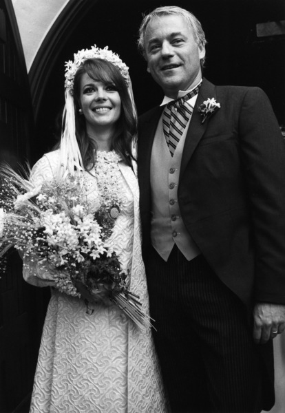 Natalie Wood with her husband Richard Gregson,May 30, 1969. © 1978 Curt Gunther - Image 0764_0304