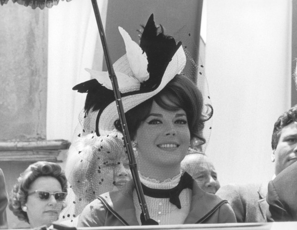 """Natalie Wood at a Warner Bros. Partyfor the film """"The Great Race"""", 1965 © 1978 Chester Maydole - Image 0764_0368"""