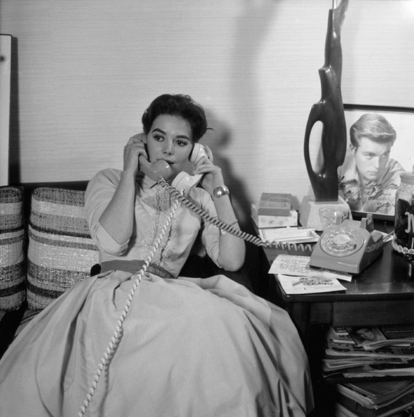 Natalie Wood at home1957 © 1978 Wallace Seawell - Image 0764_0423
