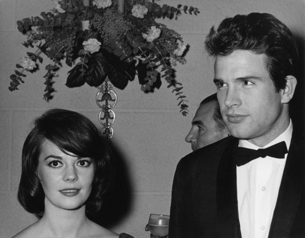"""Natalie Wood and Warren Beatty at the American Premiere of """"How the West Was Won""""1962© 1978 Kim Maydole Lynch - Image 0764_0461"""