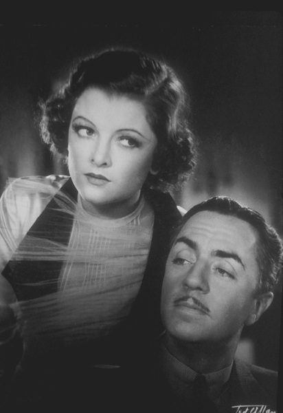 """Myrna Loy and William Powell in """"The Thin Man,"""" 1934. © 1978 Ted AllanMPTV - Image 0771_0030"""