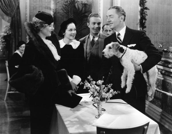 """The Thin Man""Myrna Loy, Maureen O"