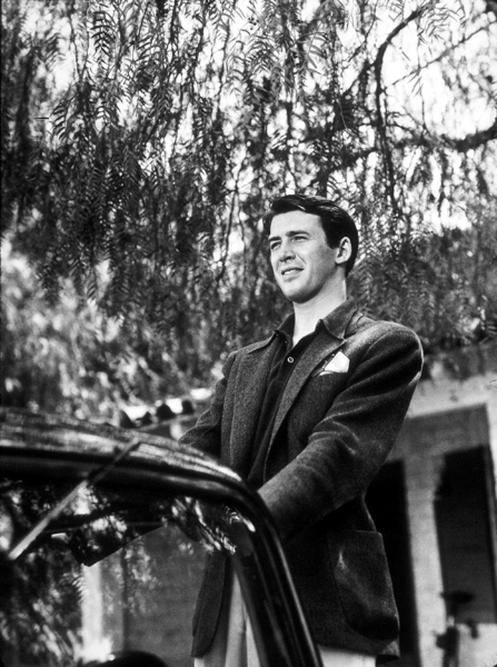 James Stewart at home, 1936. © 1978 Ted AllanMPTV - Image 0802_0028